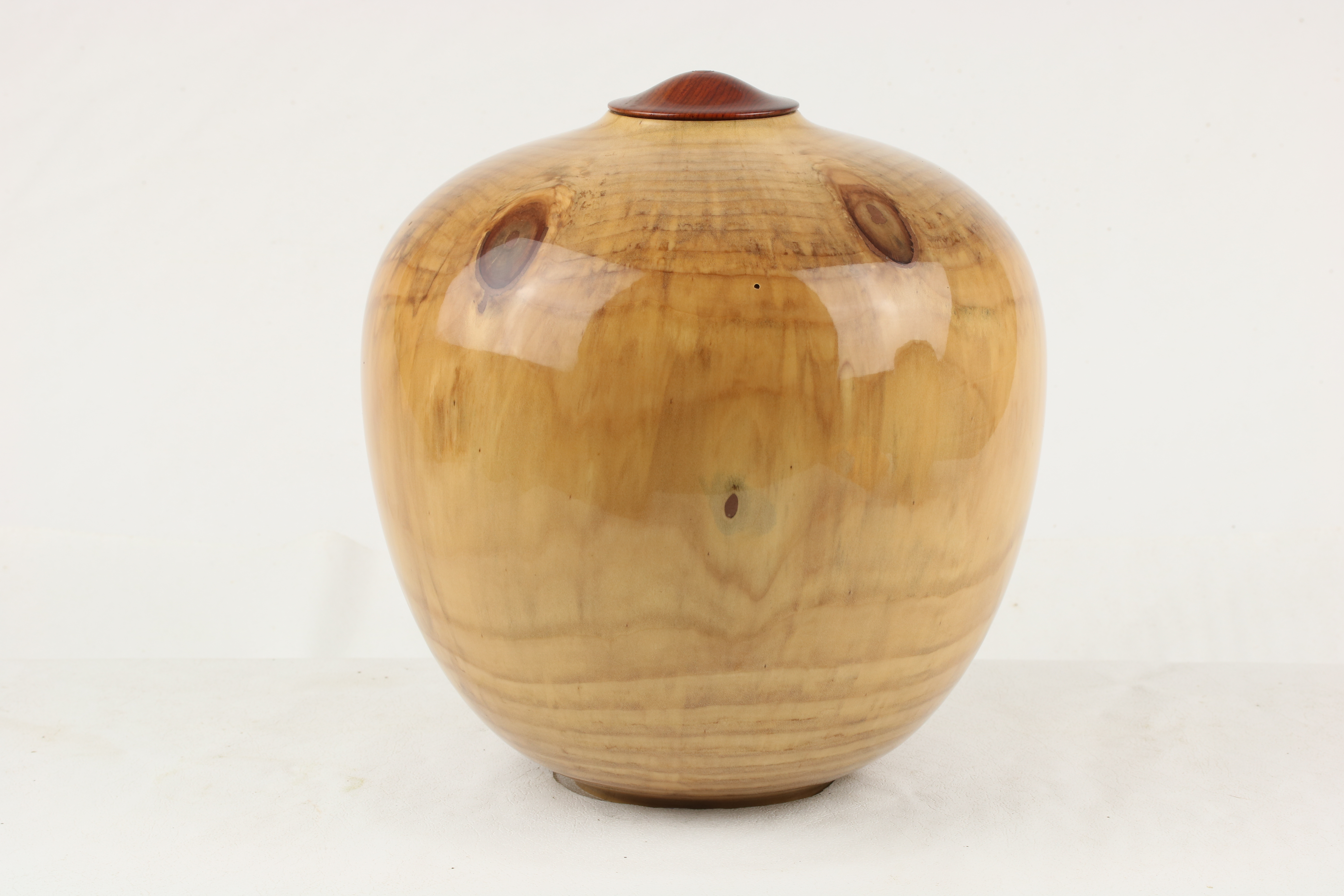 Monkey Puzzle with a Cocobolo lid