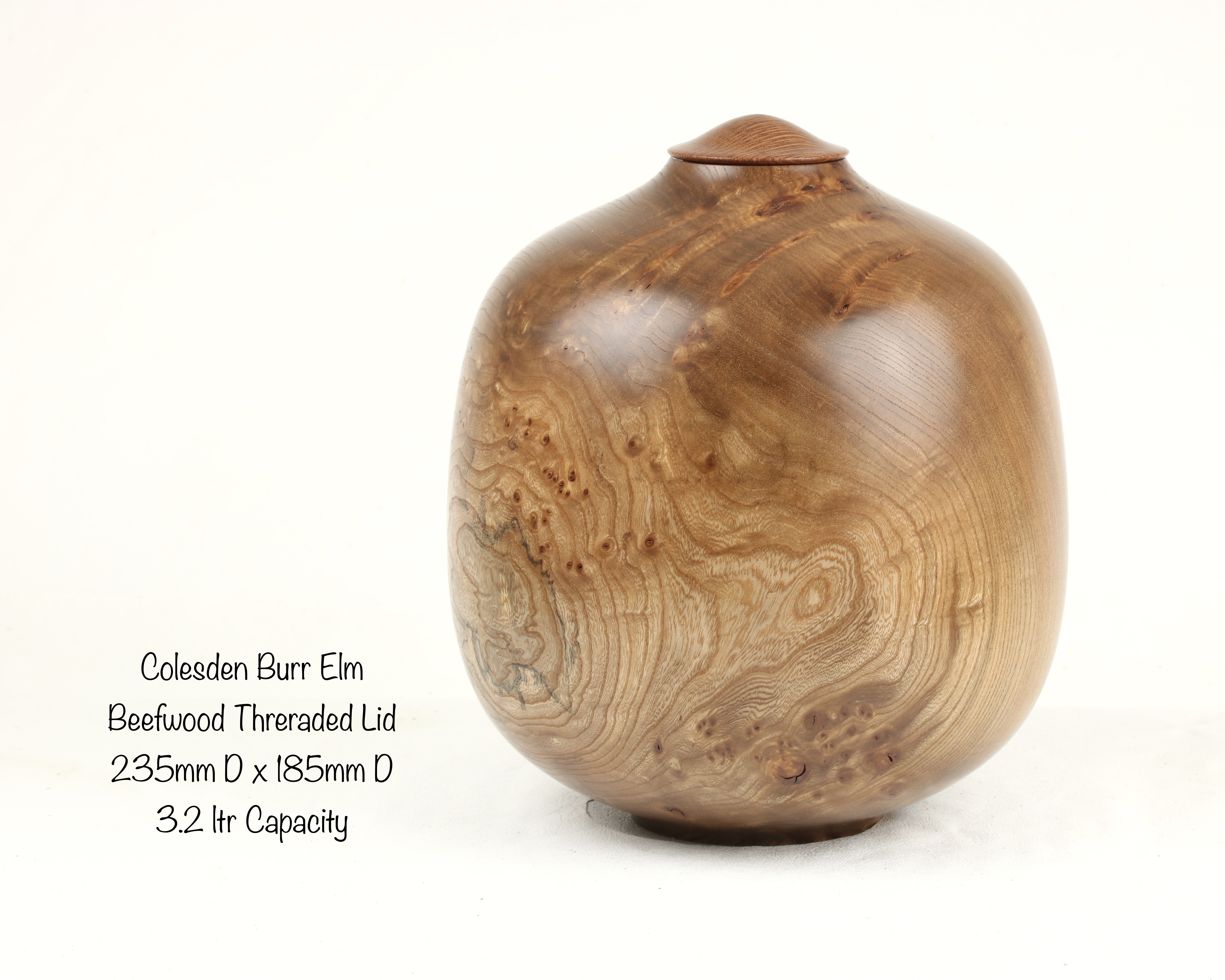 Colesden Burr Elm. Single Urn