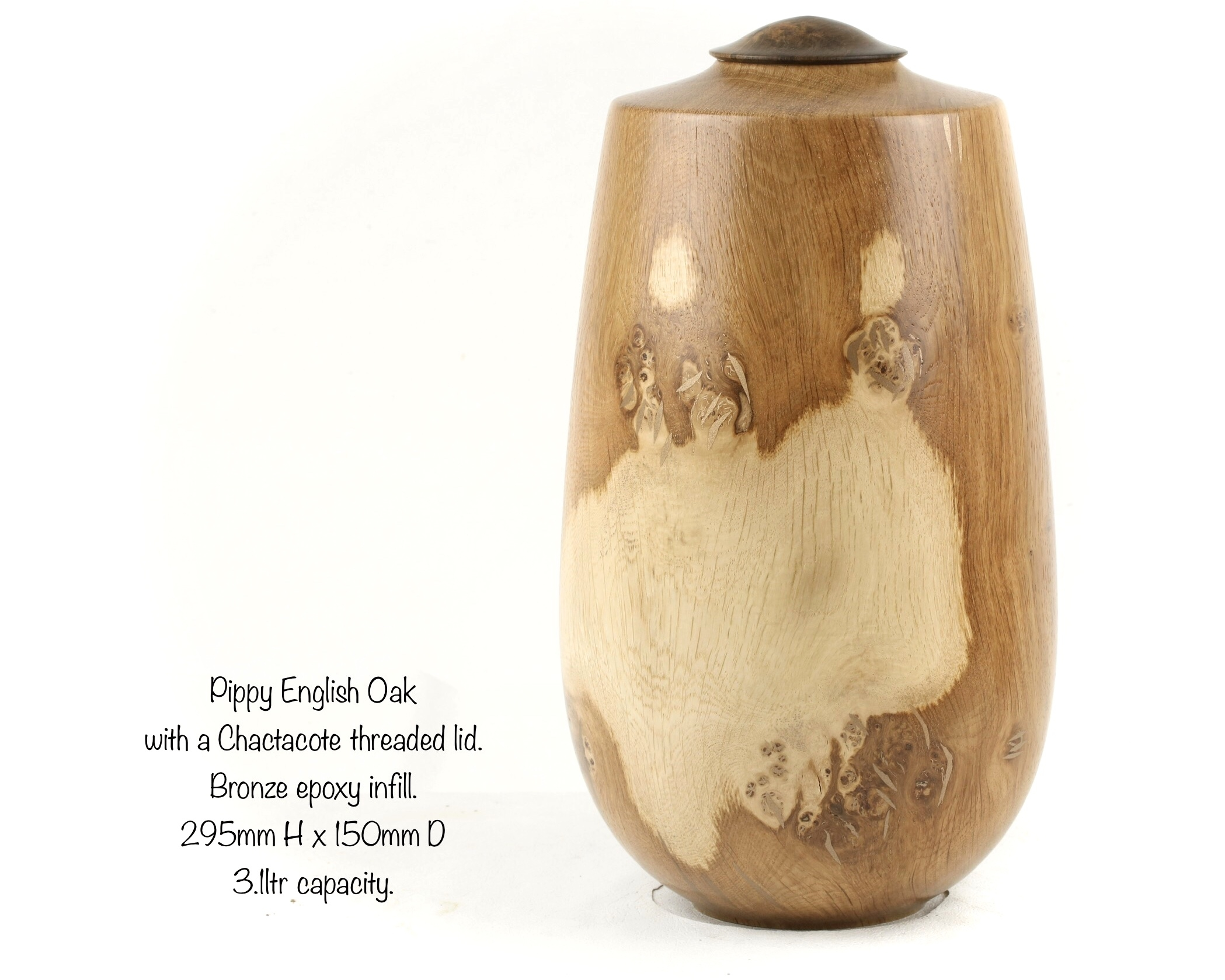 Pippy English Oak Single Urn