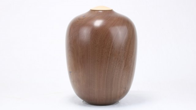 English Walnut Single Urn